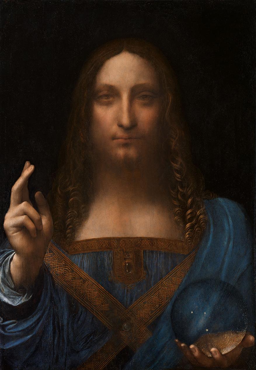 Salvator Mundi, sold for $450m