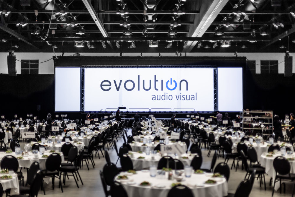 Live event audio visual equipment, LED Walls