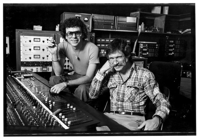 LARRY ROSEN and DAVE GRUSIN, Co-Founders of GRP Records  (c. 1976)