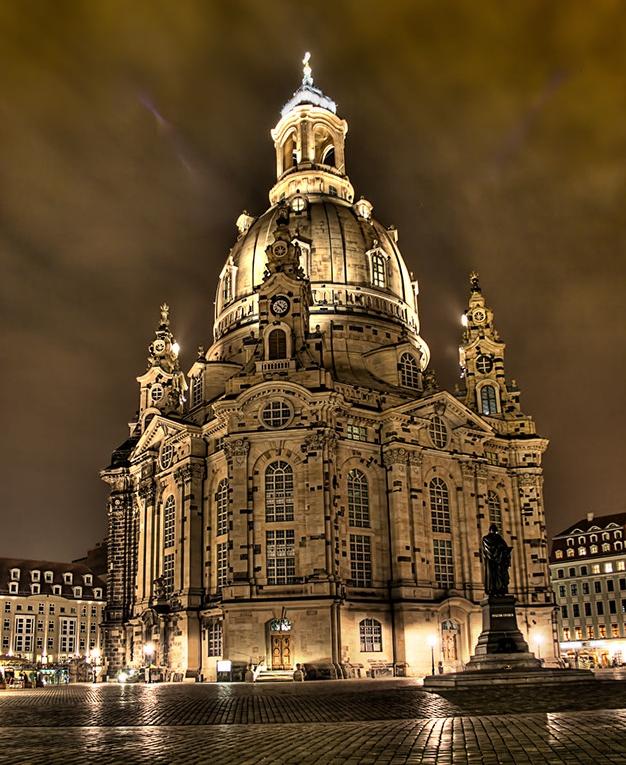 Reconstructed Dresden Frauenkirche, 2005. -