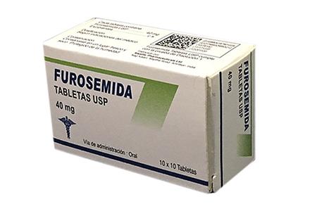 Furosemida tabletas USP 40 mg