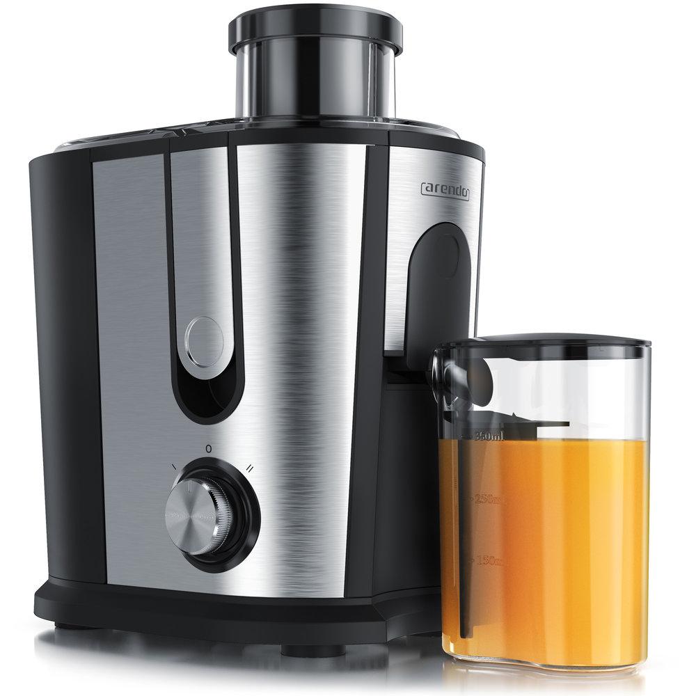 JUICER - EntsafterInkl. Mikrosieb 1,2 L FassungsvermögenSaftauffangbehälter (350ml)600 WattEdelstahl-Mikrosieb SicherheitsabschaltungSpülmaschinengeeignet (abnehmbare Bauteile)BPA-freiMod. Nr.: 303341DIREKT BEI AMAZON KAUFEN