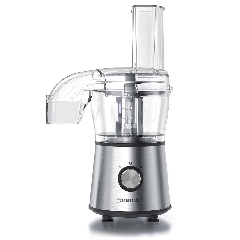 CHOPPER - Multi Zerkleinerer2:1-Einsatz Schneiden & Raspeln500 ml Glasbehälter mit SkalierungZwei Geschwindigkeitsstufen280 Watt Antirutsch-GummiringSpülmaschinengeeignet (abnehmbare Bauteile)BPA-freiMod. Nr.: 303342DIREKT BEI AMAZON KAUFEN