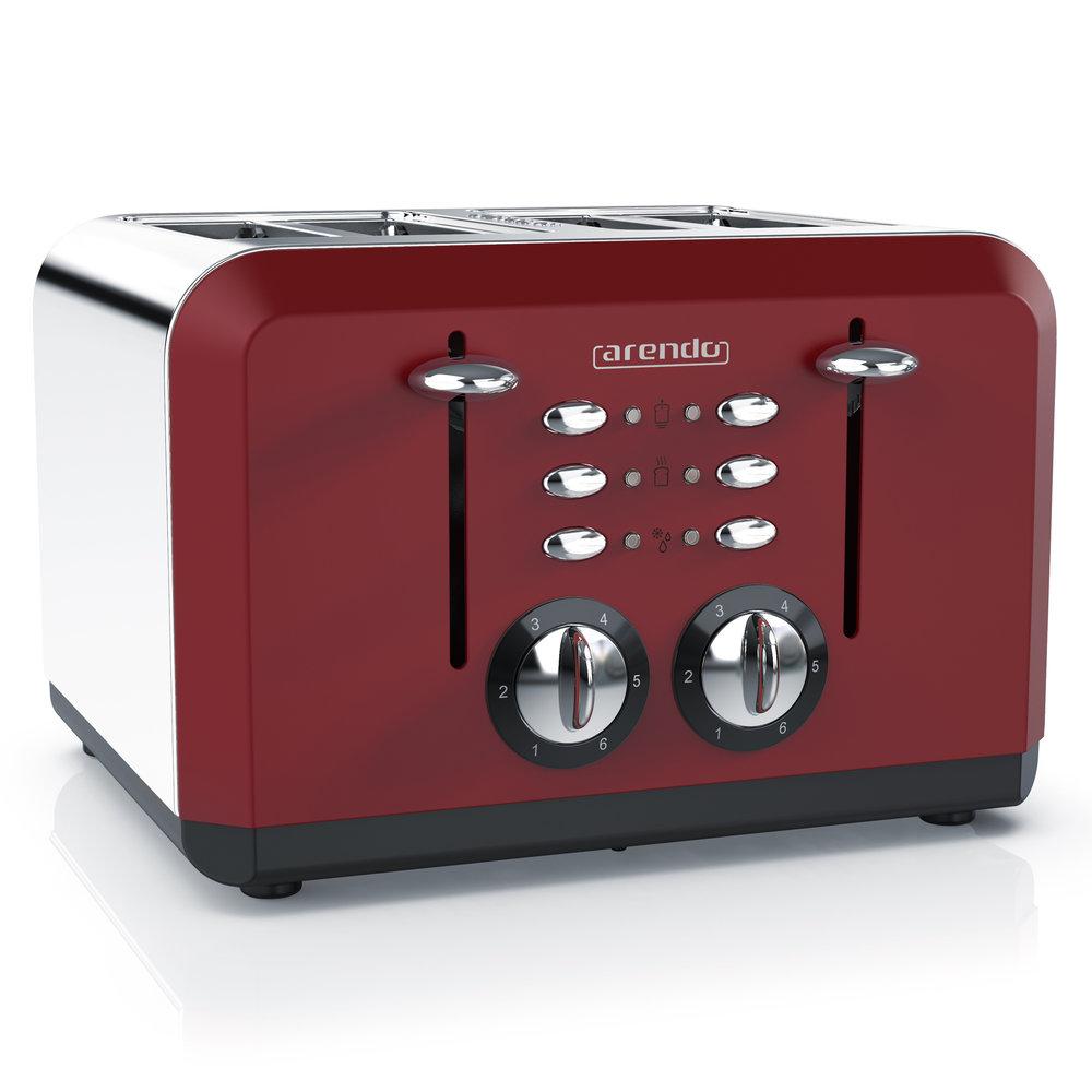 BREAKFAST X2 - Wenn der BREKFAST X2-Toaster in Aktion tritt, können Freunde und Familie ihre Toasts gemeinsam genießen.ZUR PRODUKTSEITEDIREKT ZU AMAZON