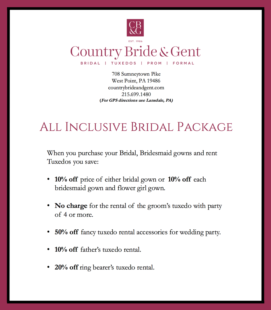 All Inclusive Bridal Pacakage Country Bride and Gent.png