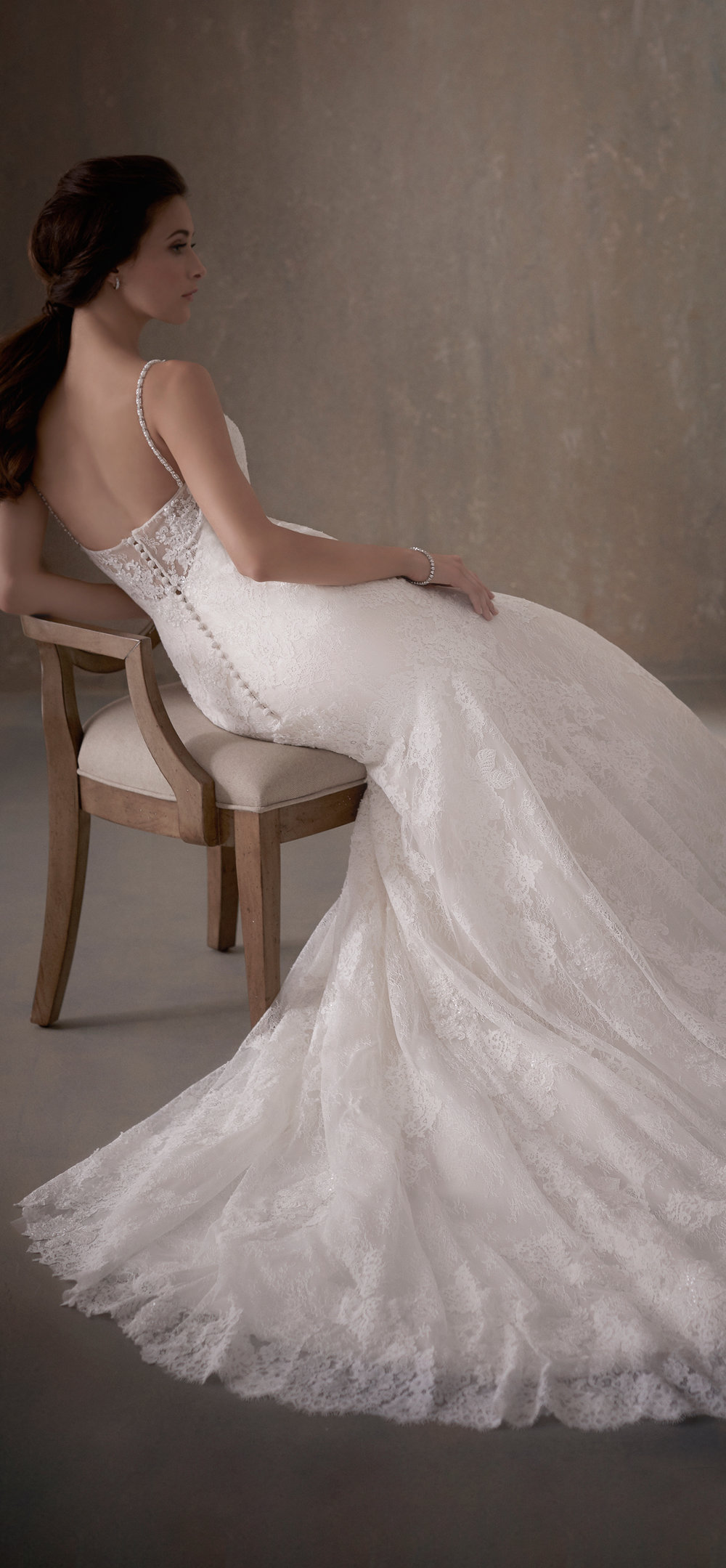 Adrianna Papell Style 31013 Country Bride and Gent Full Side View.jpg