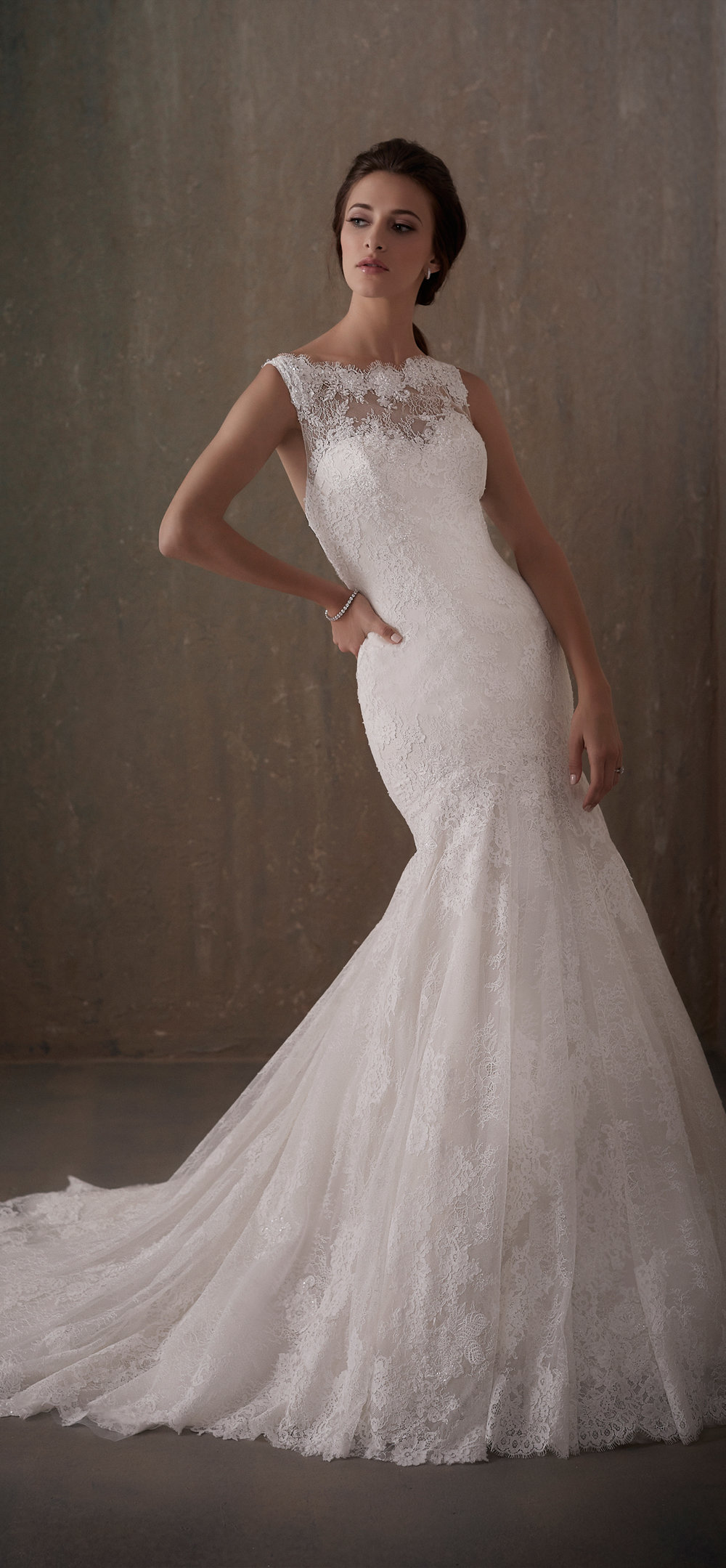 Adrianna Papell Style 31013 Country Bride and Gent Full Front View.jpg