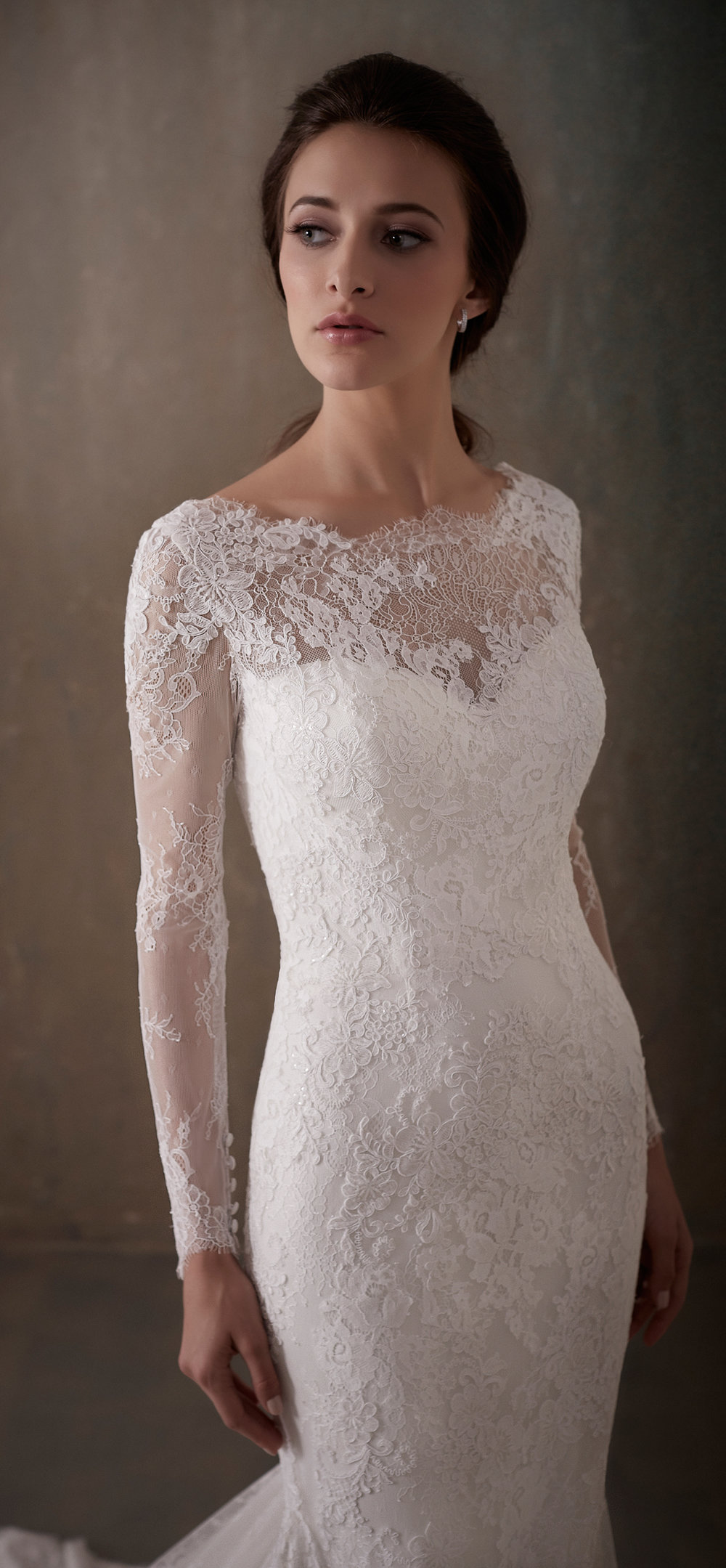 Adrianna Papell Style 31014 Country Bride and Gent Front Close Up.jpg