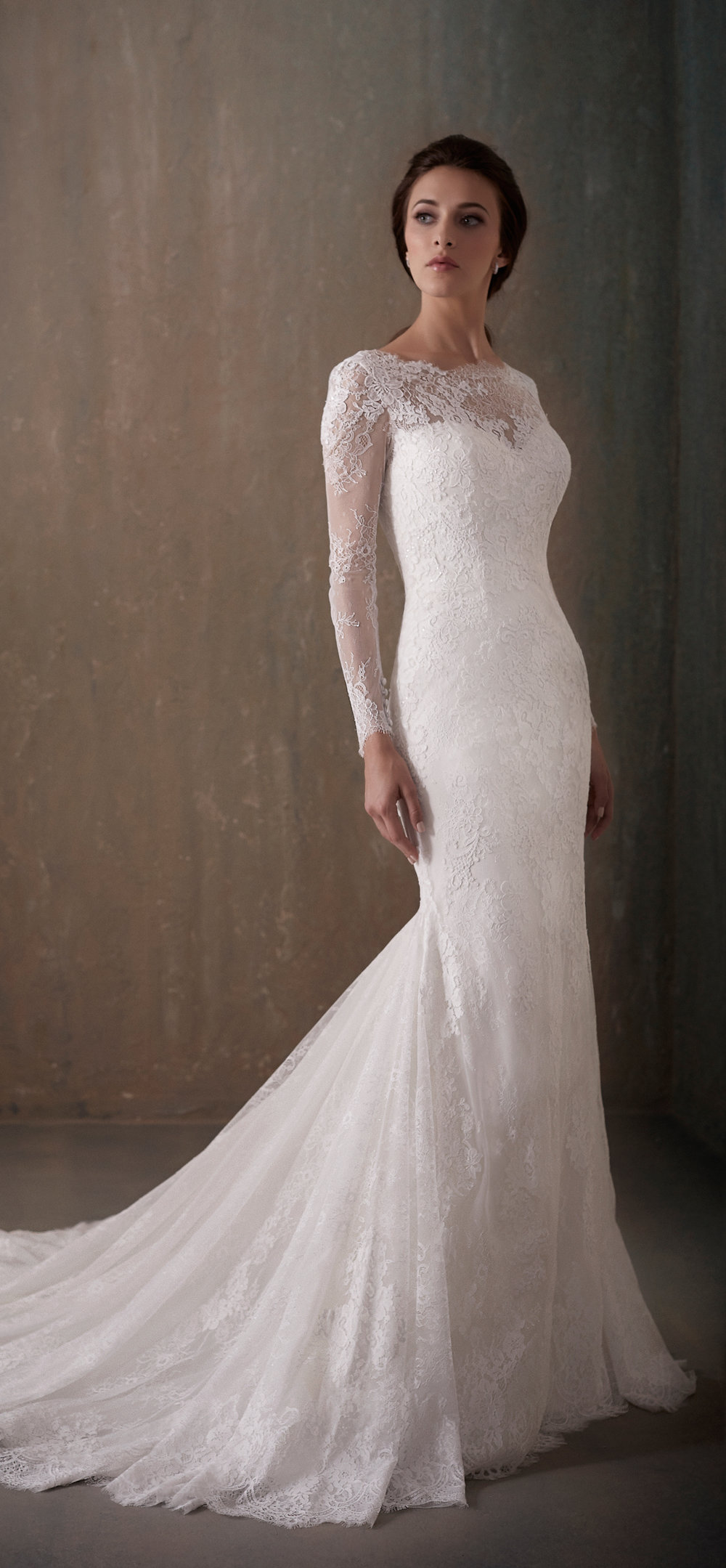 Adrianna Papell Style 31014 Country Bride and Gent Full Front View.jpg