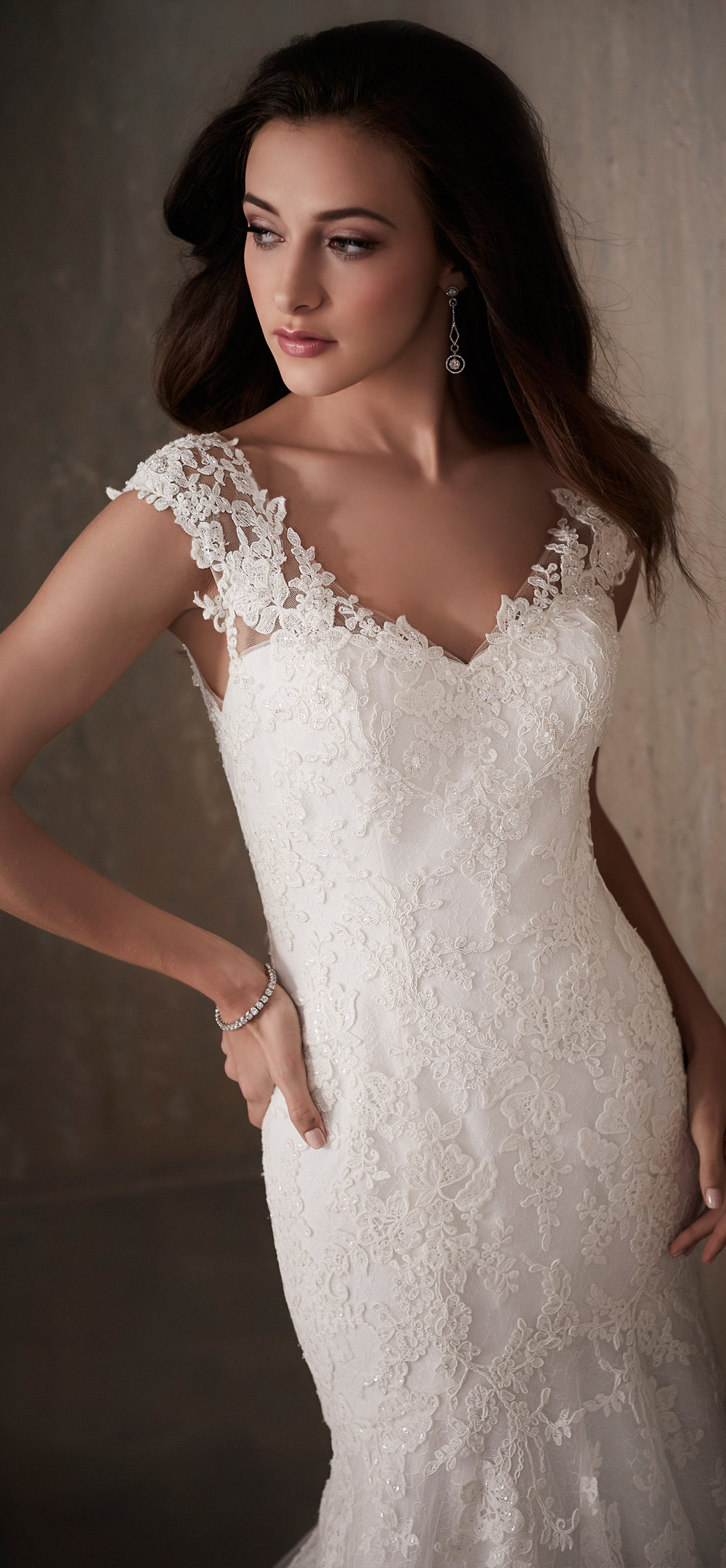 Adrianna Papell Style 31018 Country Bride and Gent Front Close Up.jpg
