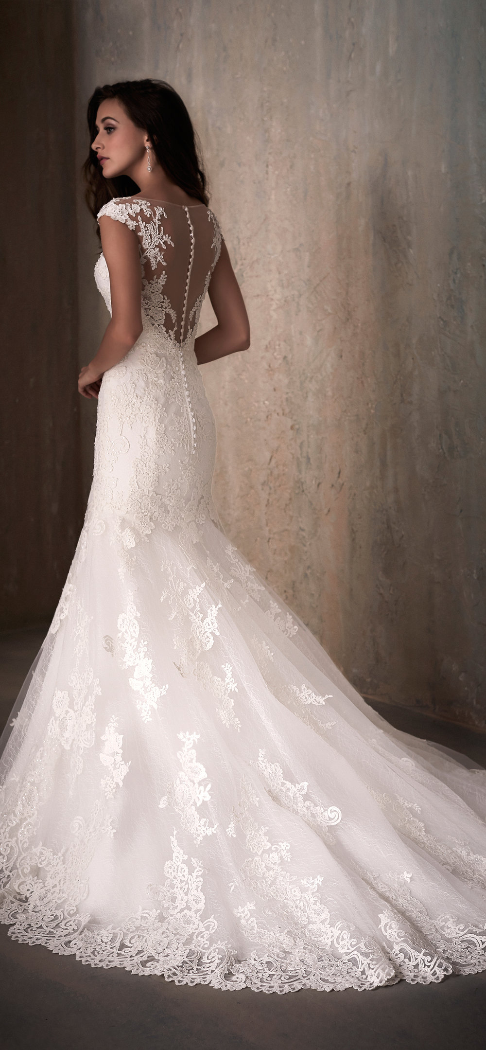 Adrianna Papell Style 31018 Country Bride and Gent Full Back View.jpg