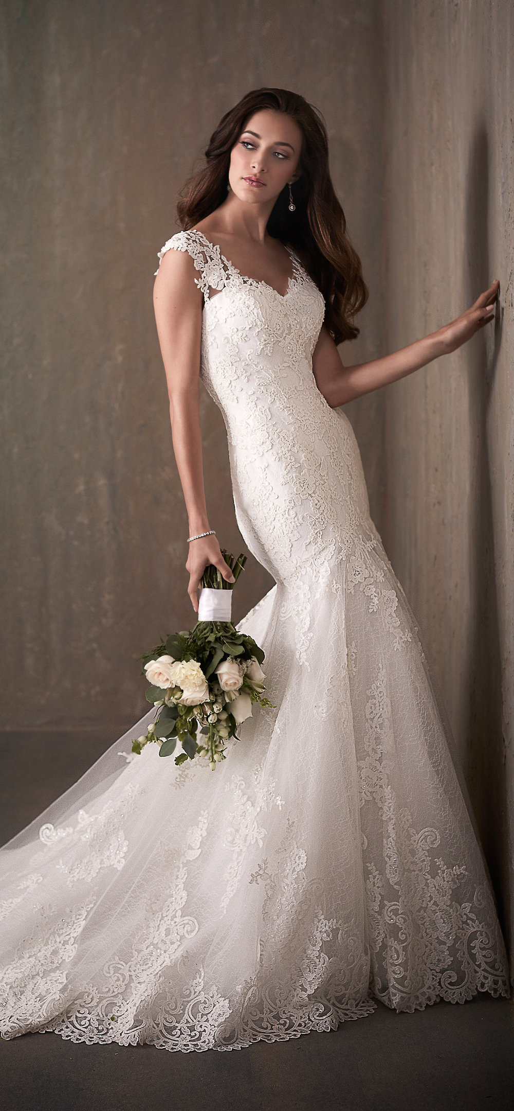 Adrianna Papell Style 31018 Country Bride and Gent Full Front View.jpg