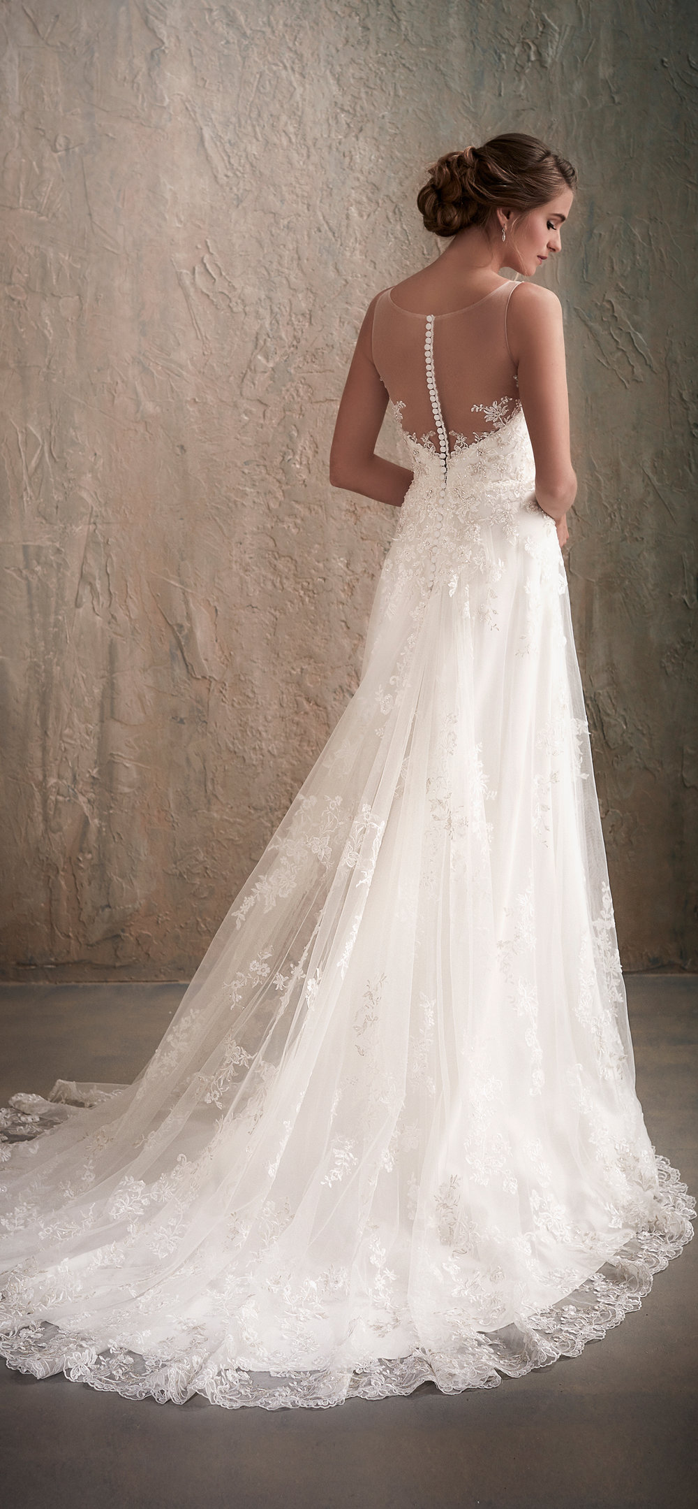 Adrianna Papell Style 31023 Country Bride and Gent Full Back View.jpg