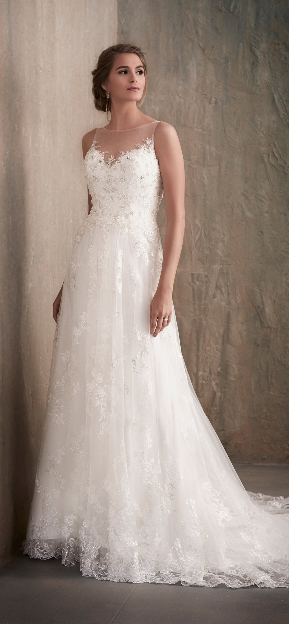 Adrianna Papell Style 31023 Country Bride and Gent Full Front View.jpg