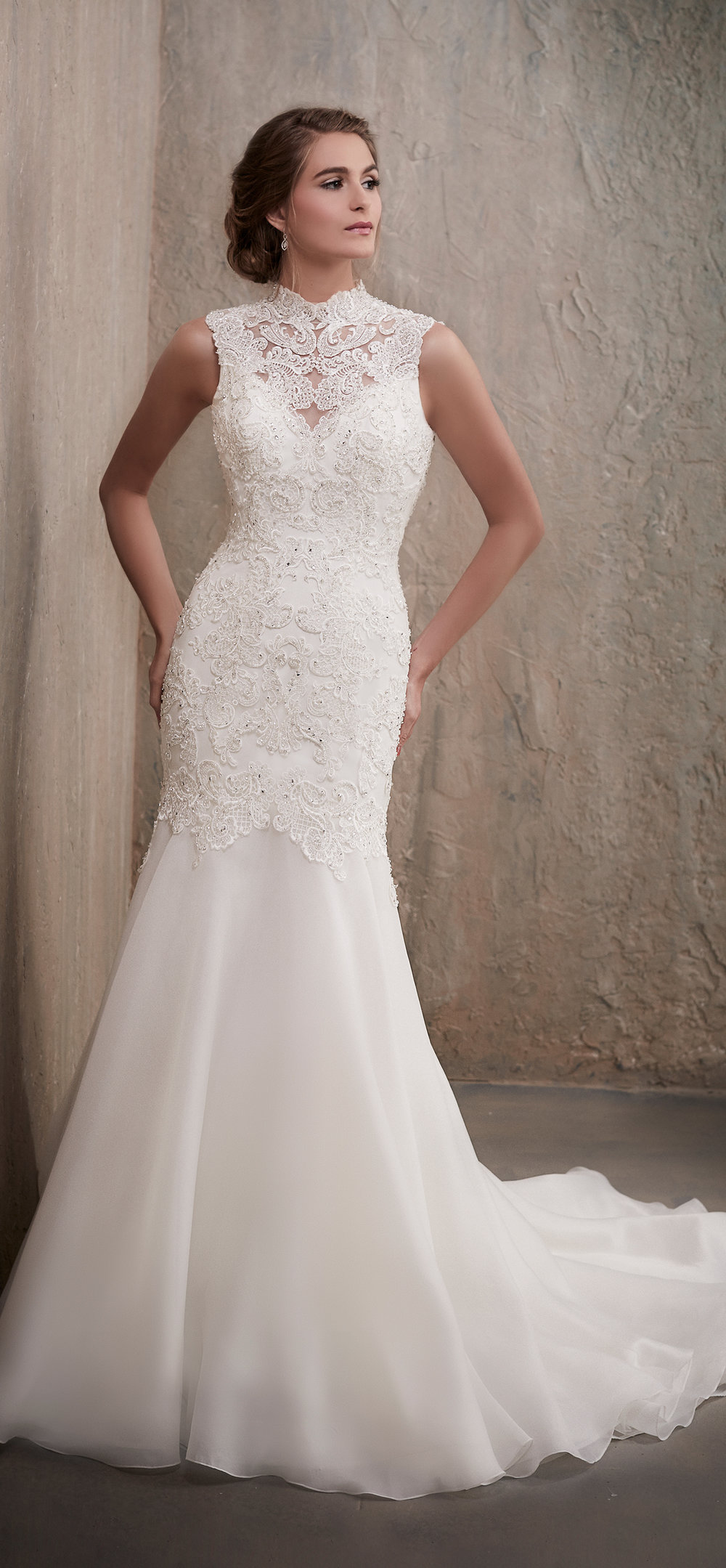 Adrianna Papell Style 31025 Country Bride and Gent Full Front View.jpg