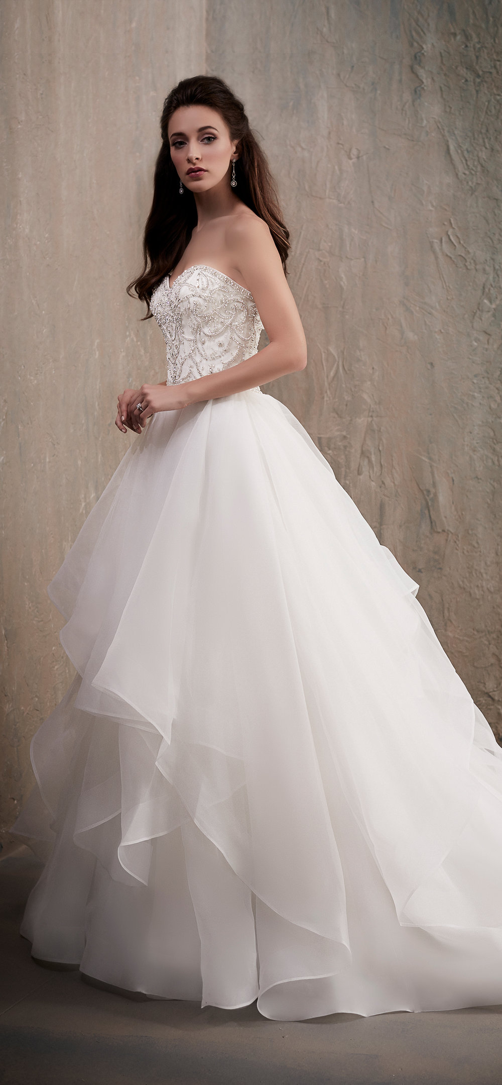Adrianna Papell Style 31026 Country Bride and Gent Full Front View.jpg