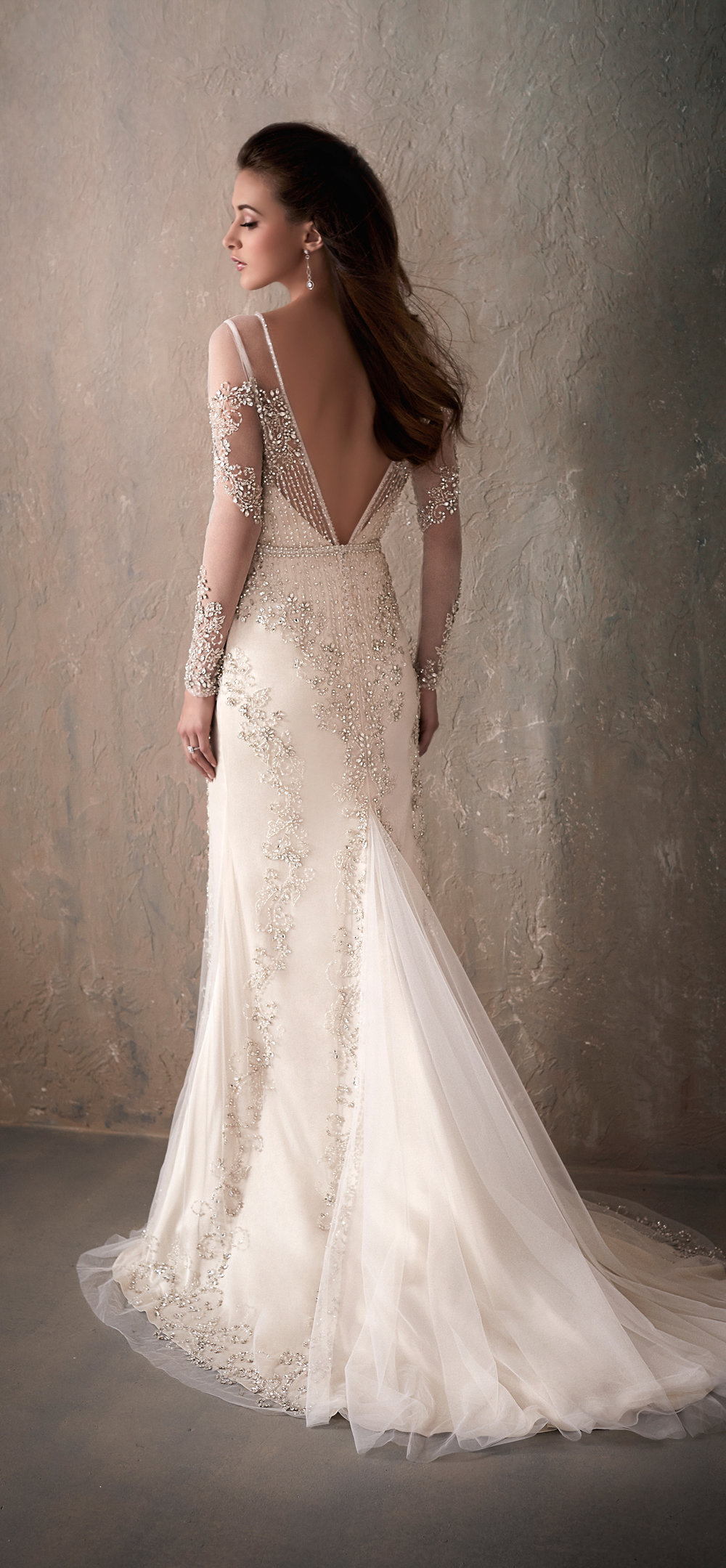 Adrianna Papell Style 31032 Country Bride and Gent Full Back View.jpg