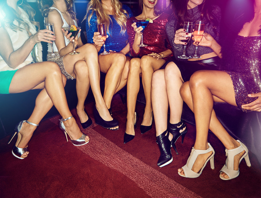 STAGETTE Parties - Send your gal out in style! We have the packages all set for you Banff Adventure.  Chose from Stagette Bar Crawl,  Bottle Service or Guest list.
