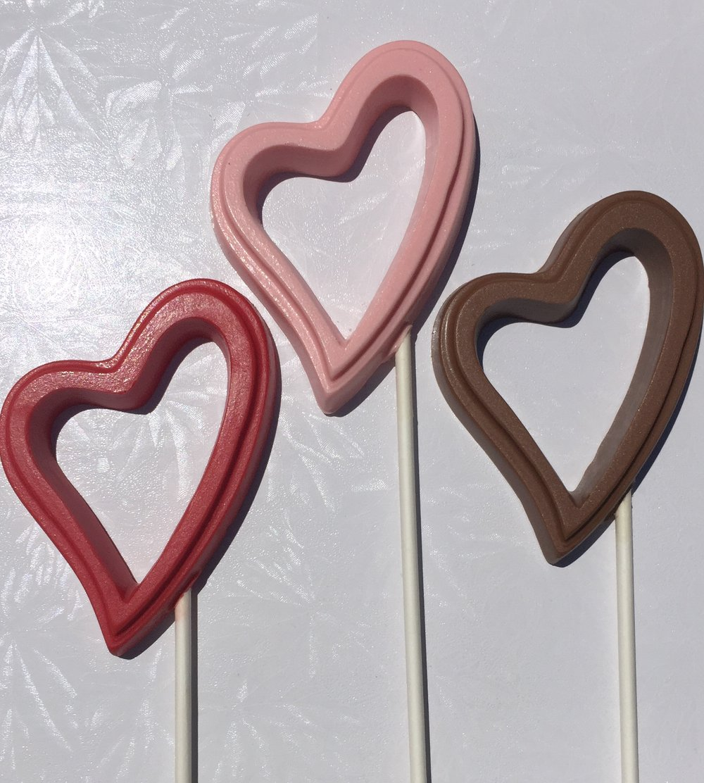 Abstract Heart Pops
