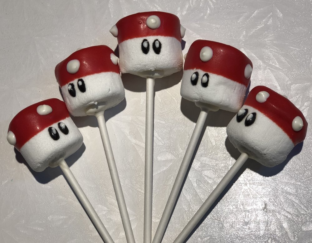 Super Mario Bros. Marshmallow Pops