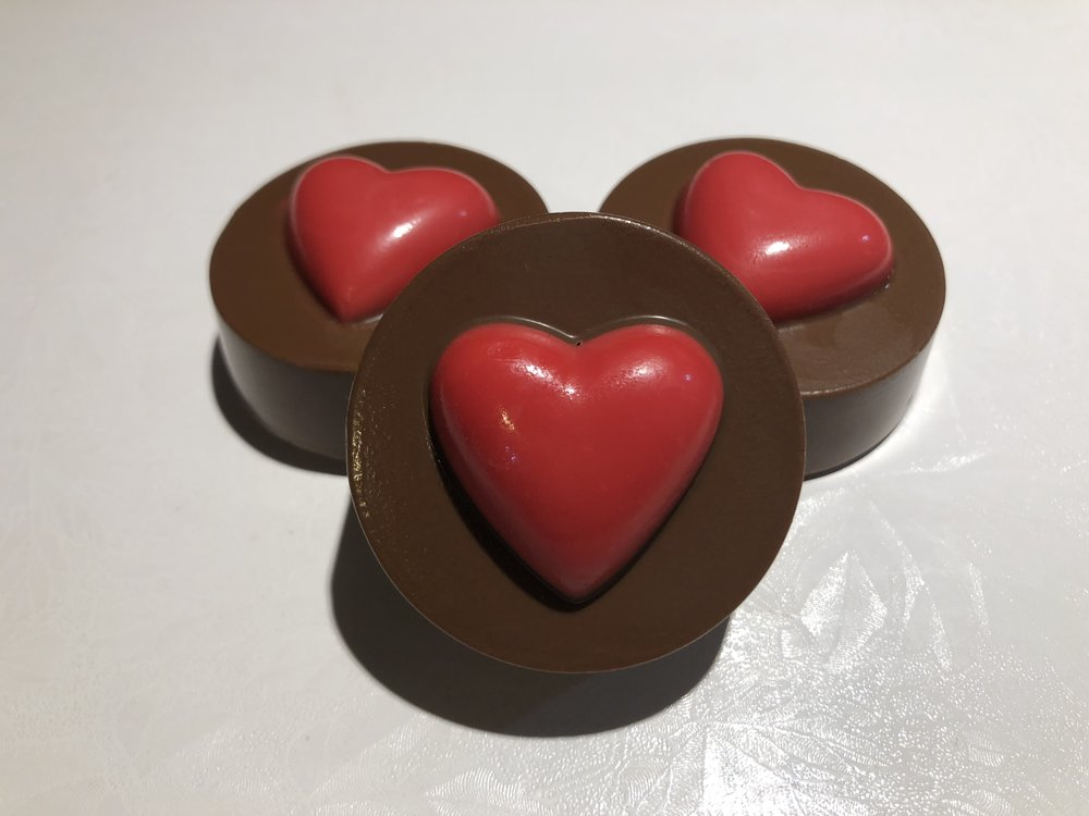 Heart Topper Oreos