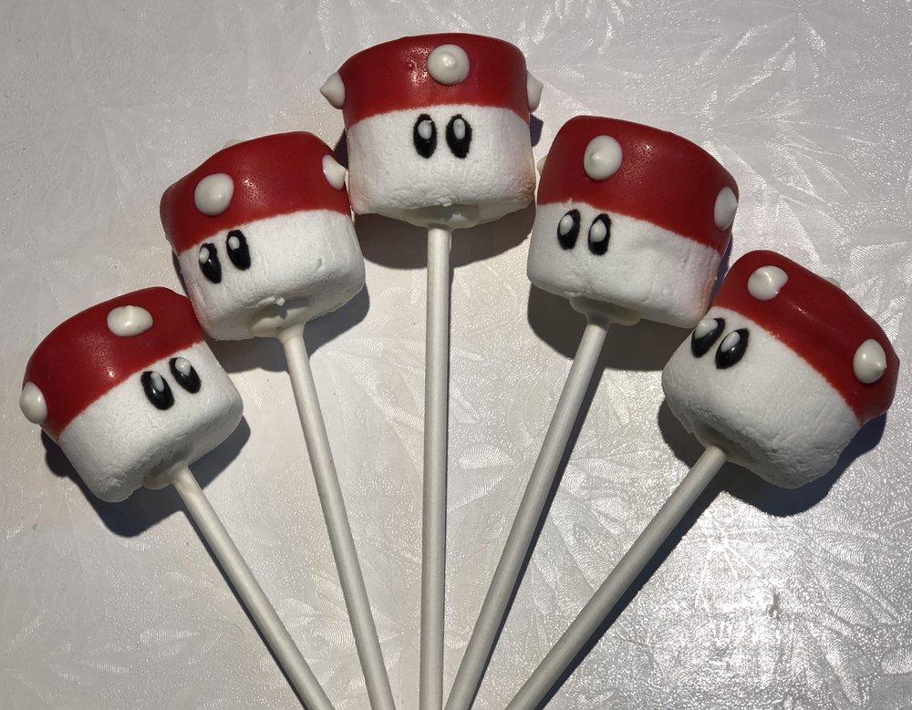 Super Mario Bros. Marshmallow Pops