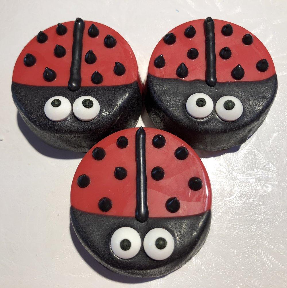 Ladybug Oreos
