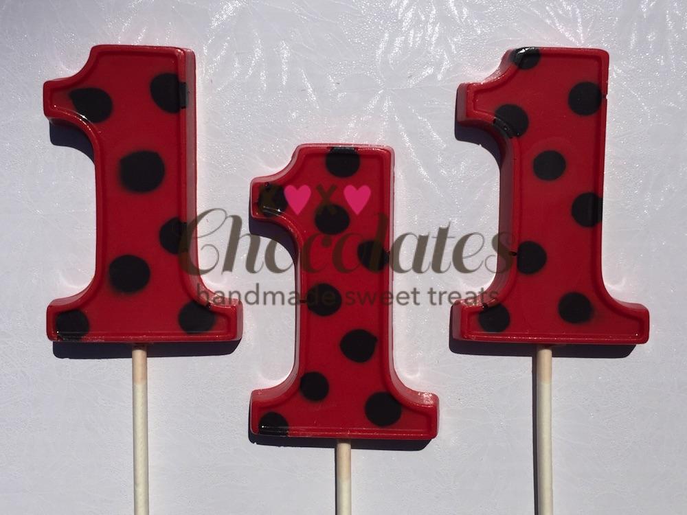 Ladybug Birthday Pops