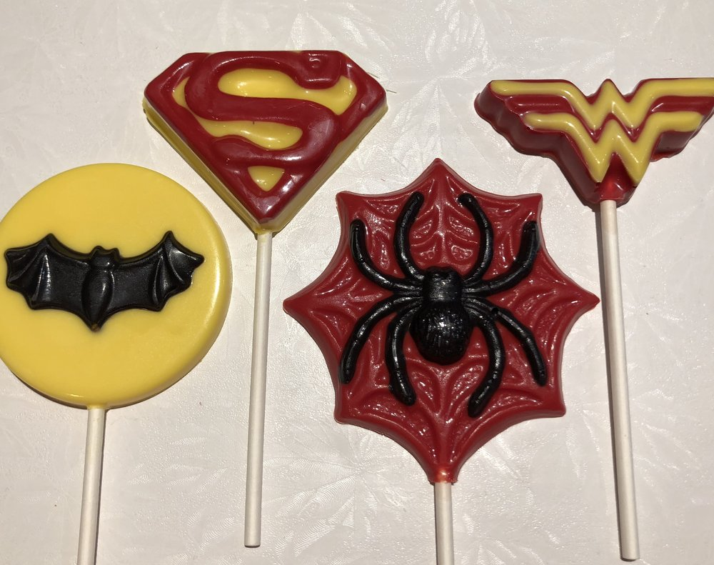 Superhero Pops