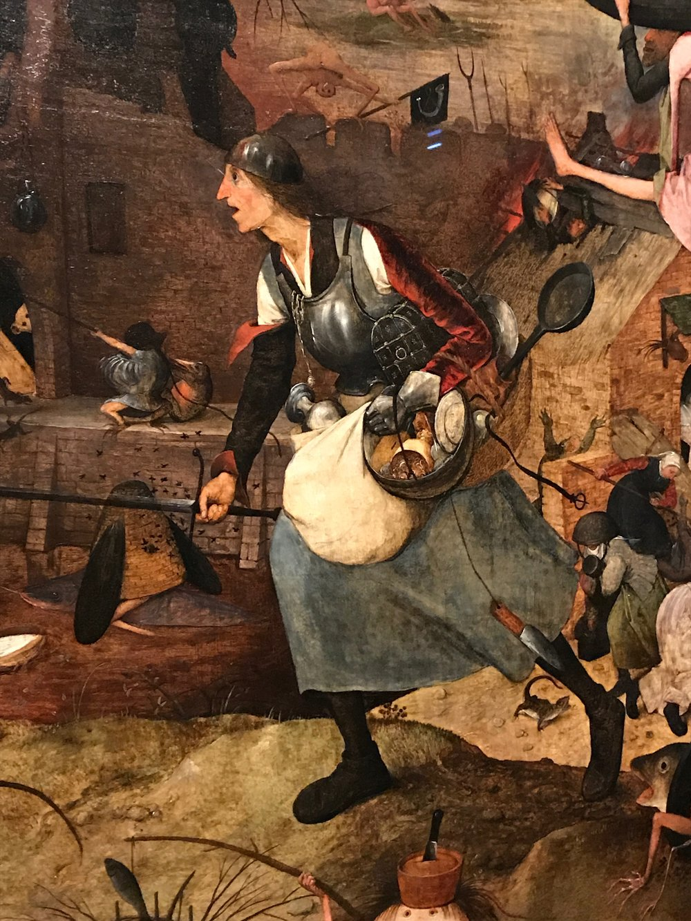 Pieter Bruegel the Elder,  Dulle Griet, 1563,(Museum Mayer van den Bergh,Antwerp)