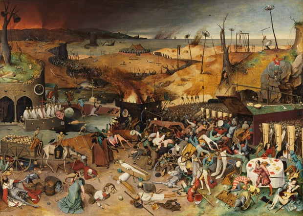Pieter Bruegel the Elder, The Triumph of Death,  c1562, (Museo Nacional del Prado, Madrid)
