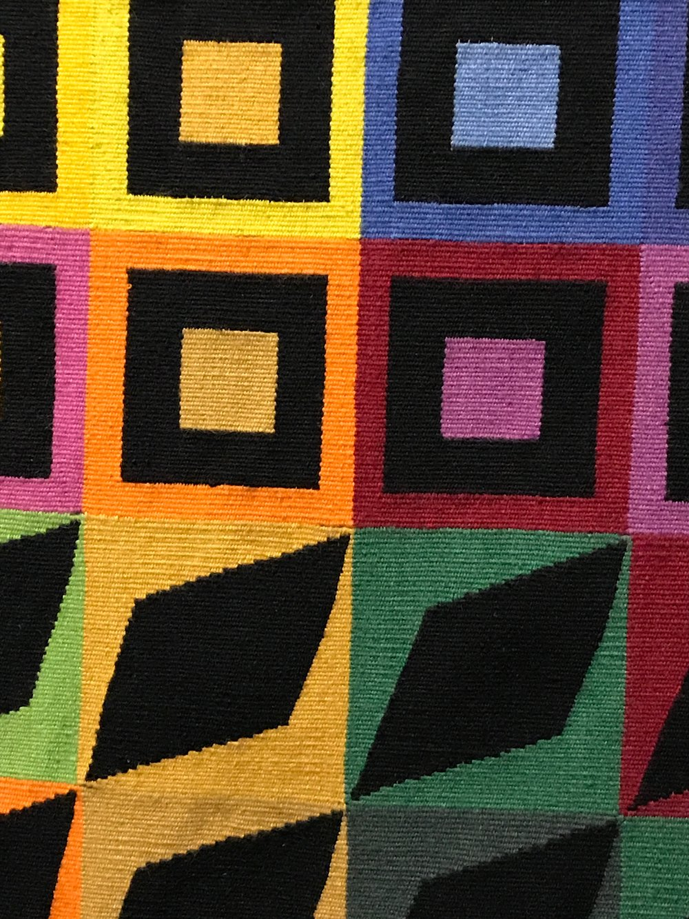 This is a Vasarely design for a tapestry