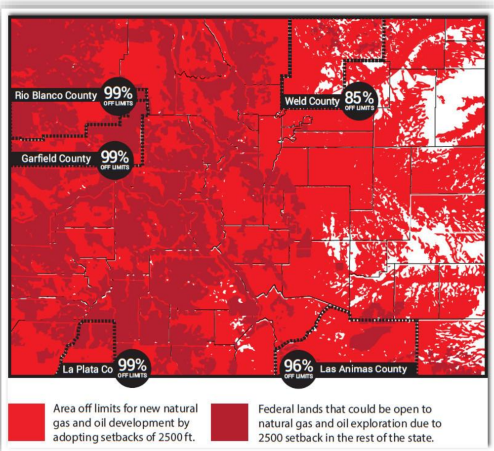 Light red includes occupied structure and vulnerable areas. Dark red and white not impacted.