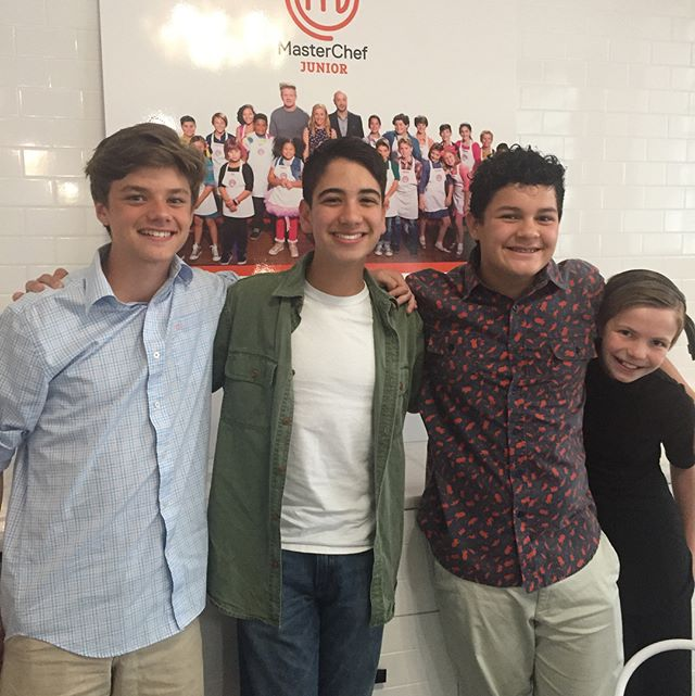 So proud of @beniandthechefs!! All three did such a great job!! I am so happy I was in Chicago with everyone to celebrate! #masterchefjunior #finale #friends