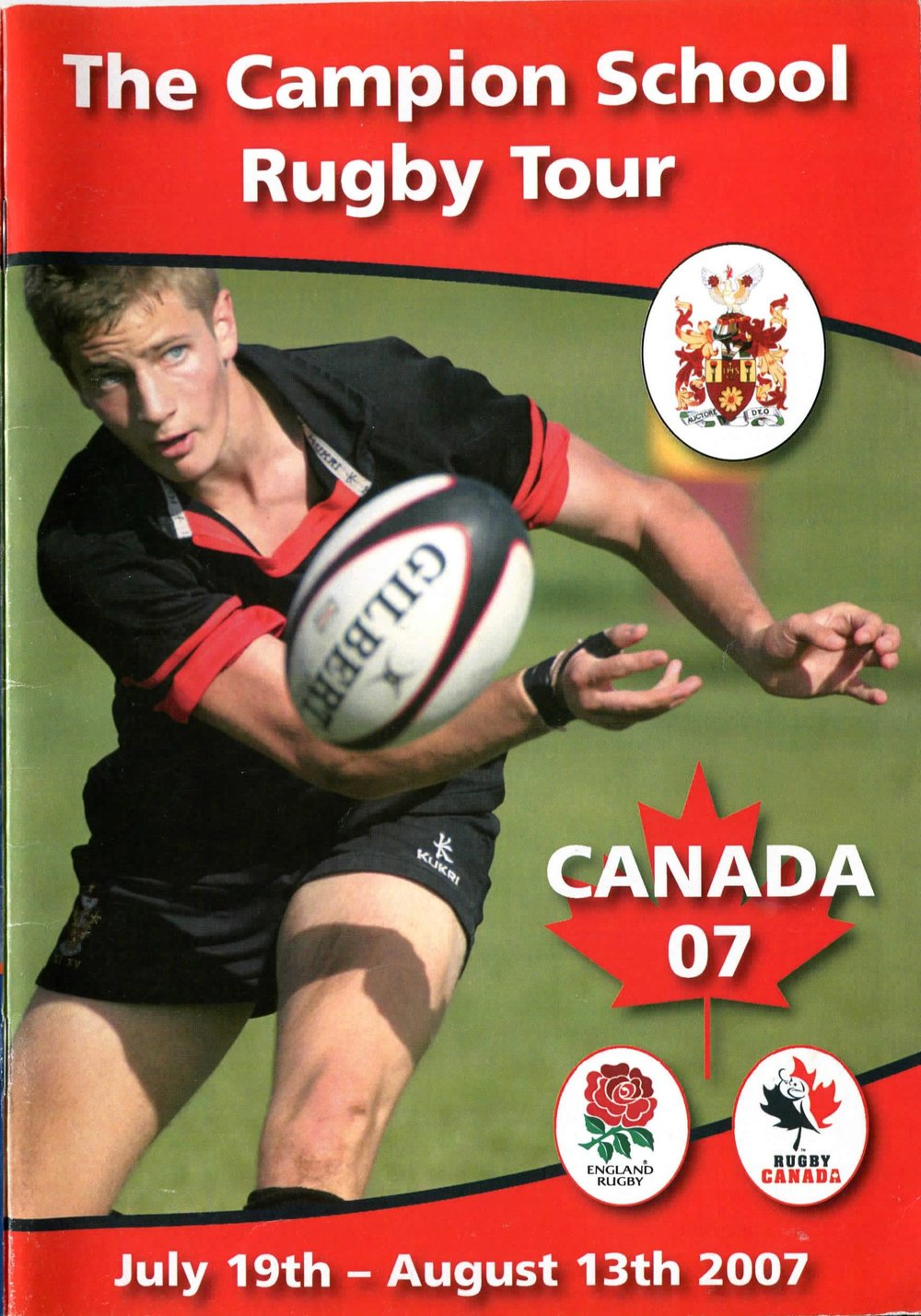 14 2007 Canada Campion Rugby 2019 Australia New Zealand Tour