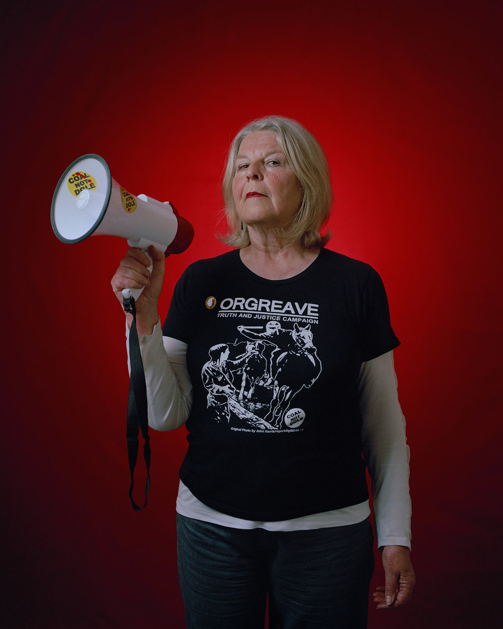Barbara Jackson, secretary of the Orgreave Truth and Justice Campaign.