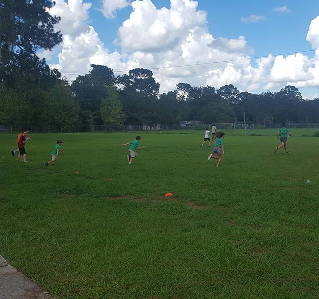 Ready, set, sprint! #youthcombine #sprint #drills #running #exercise #fitness