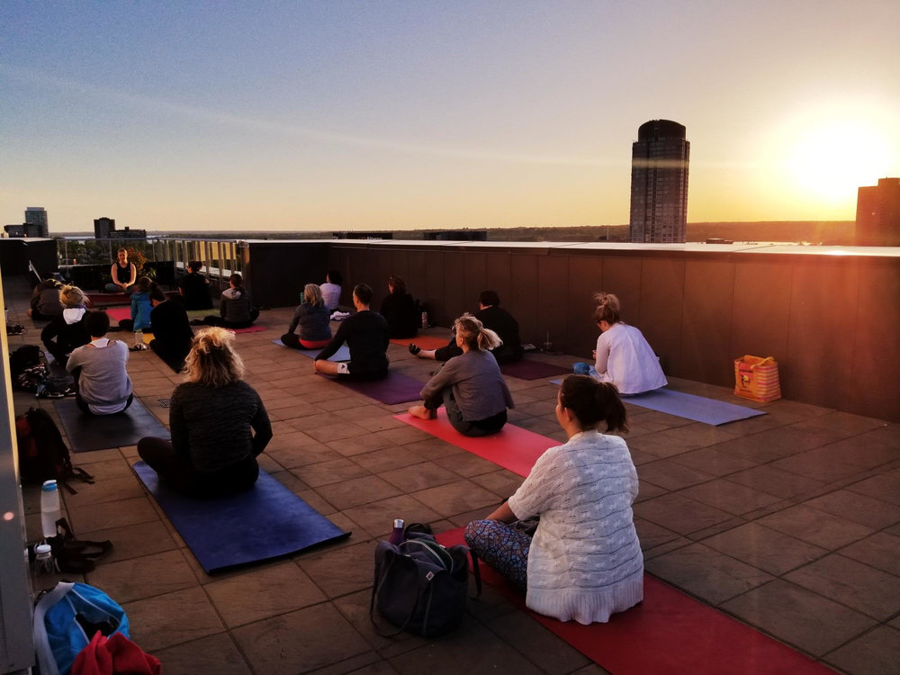 Rooftop Yoga 2019 - Details to come!Stay tuned for dates in June, July & August