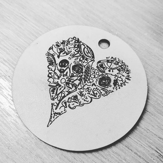 Mother's Day laser cut keyring. #hackspace #lasercutter #mothersday
