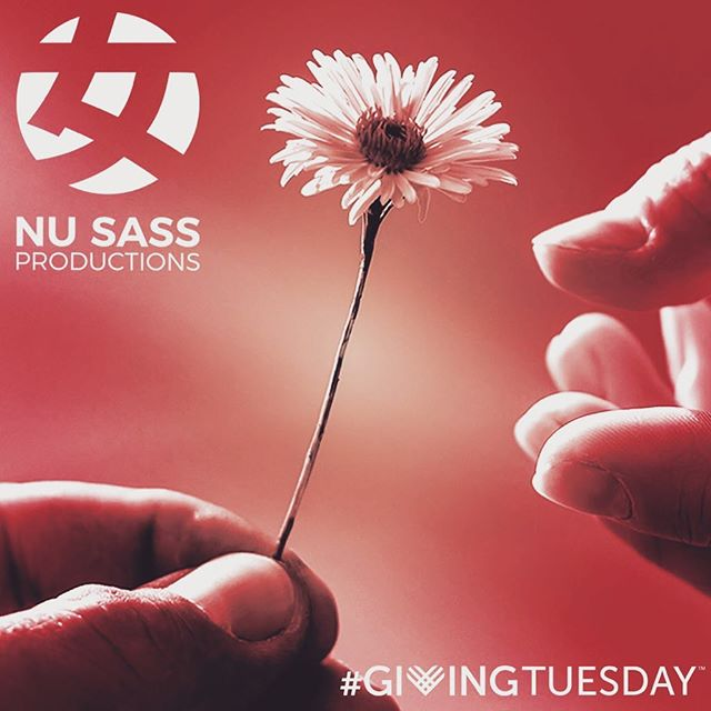 Just a gentle reminder that today is #givingtuesday and Nu Sass supports women and transgender artists only through your generous donations. Please go to nusass.com/donate to keep us running and in turn help give opportunities and experience to our local artistic community. We love you all and thank so very much!