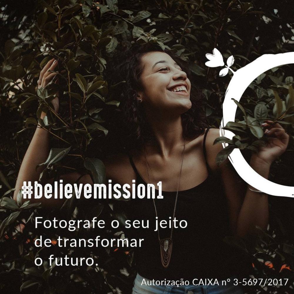 #believemission1 |Fotografe o seu jeito de transformar o futuro .   Veja os resultados da missão .