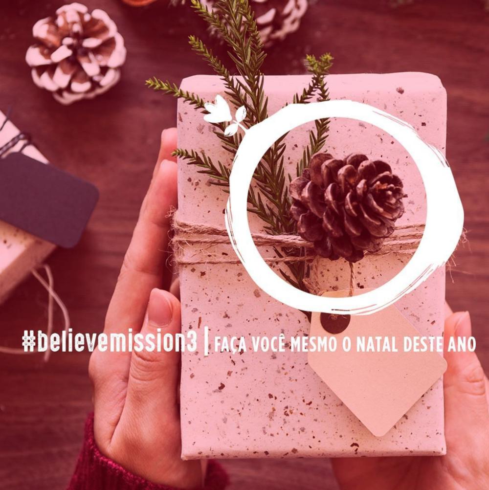#believemission3  | Faça você mesmo o Natal deste ano .   Veja os resultados da missão .
