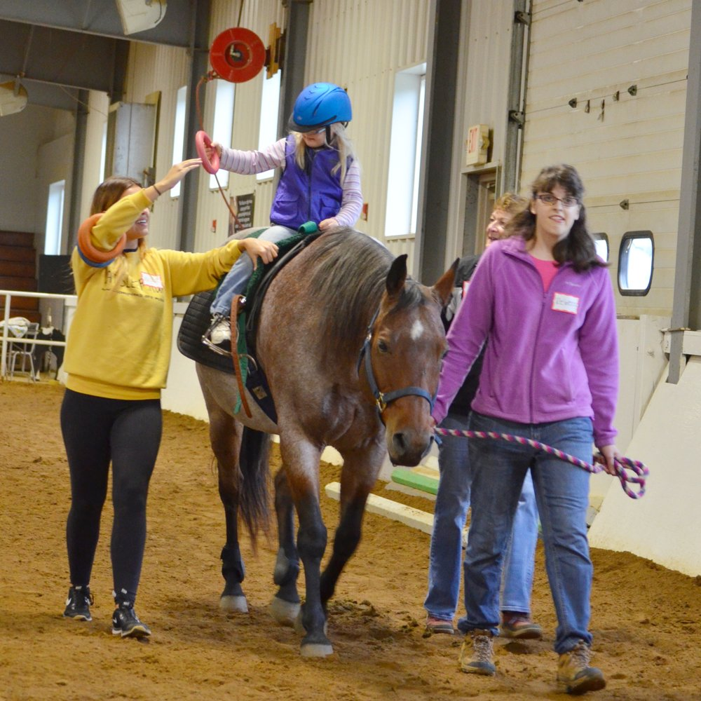 Hippotherapy — Cheff Therapeutic Riding Center