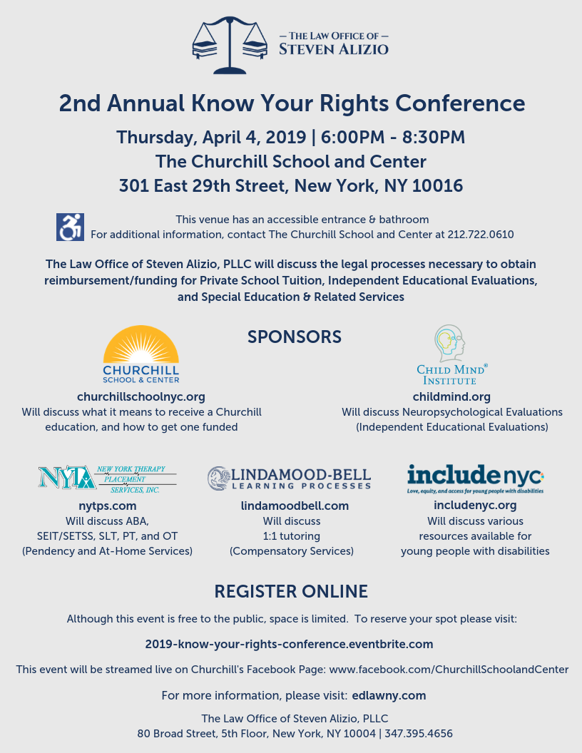 2nd Annual Know Your Rights Conference_Flyer