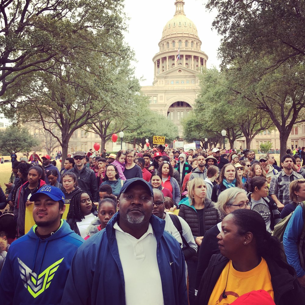 Martin Luther King Jr. March and Rally / January 15, 2018
