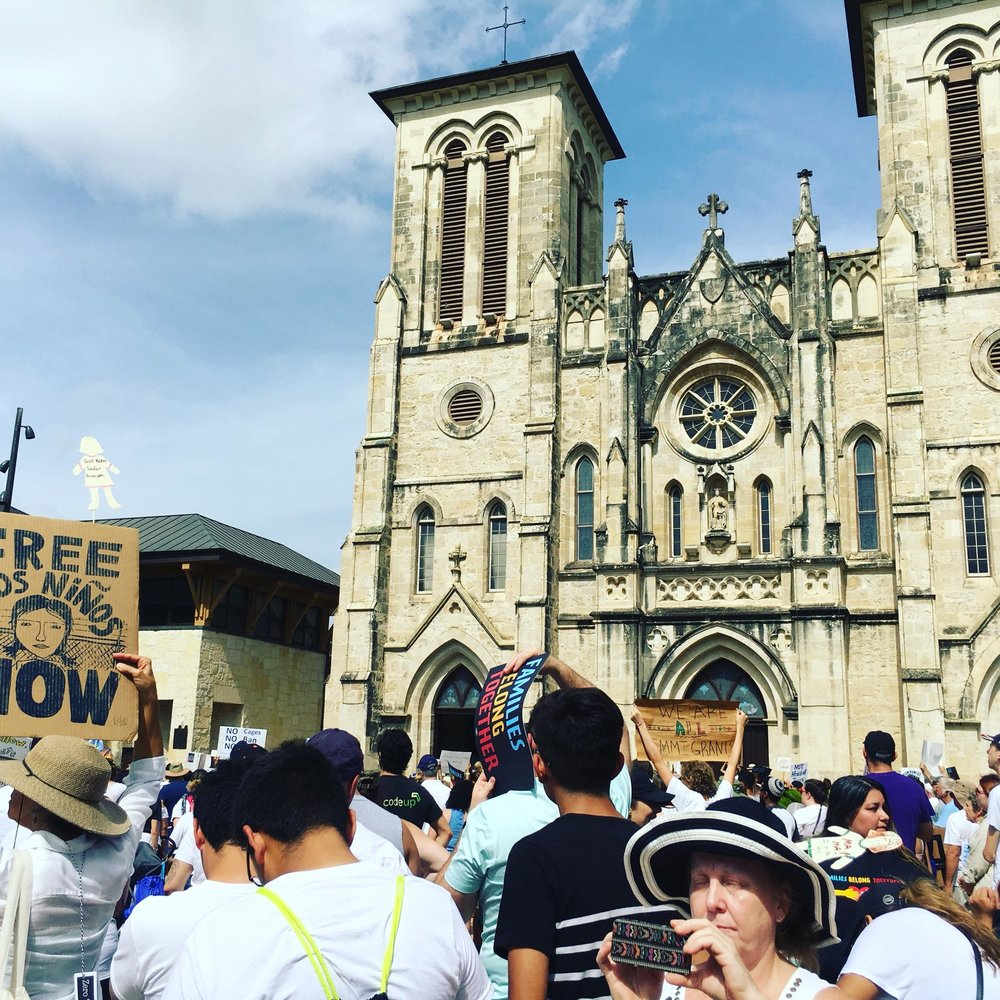 Families Belong Together June 30th Rally in San Antonio