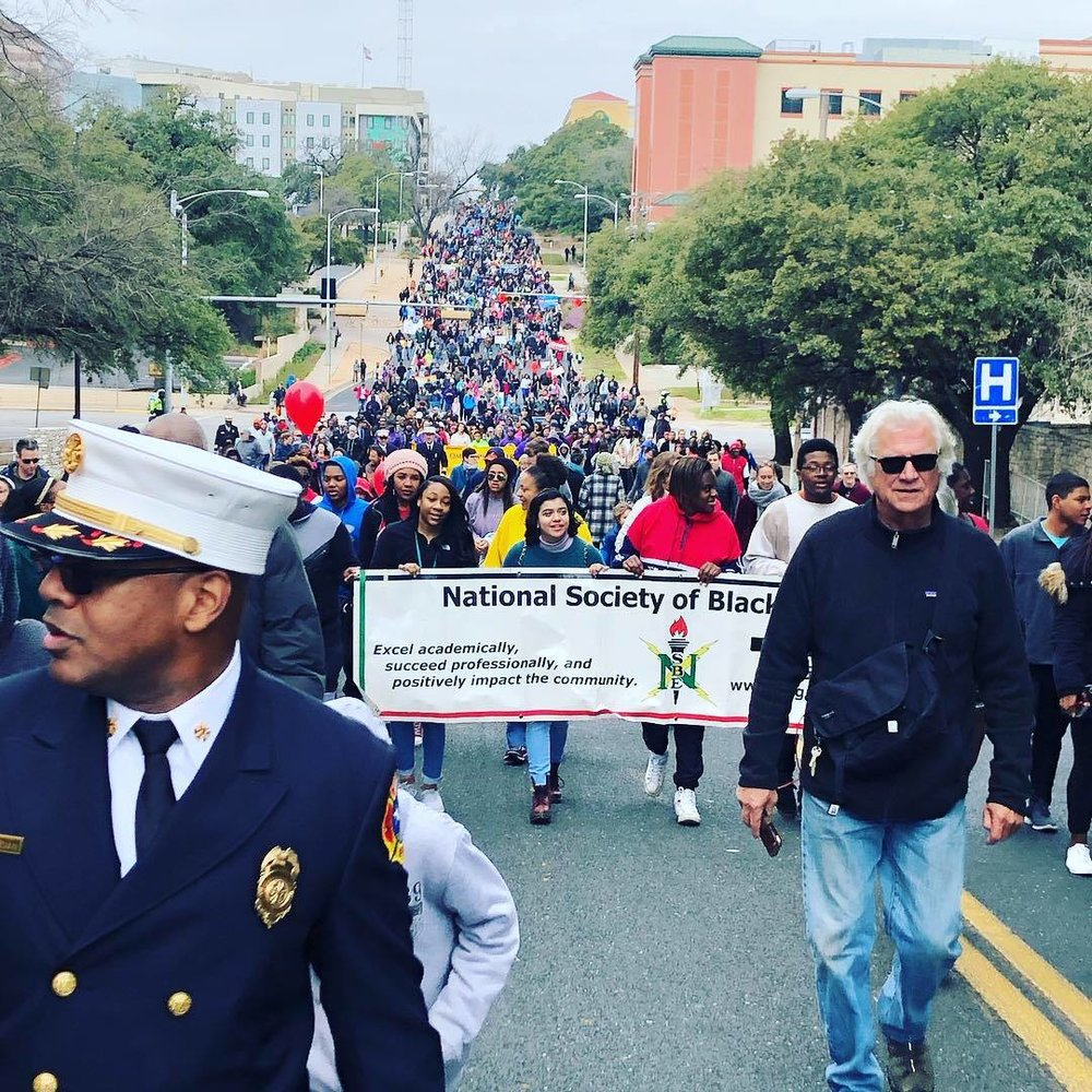 Martin Luther King Jr. March and Rally 2019 - Austin, TX