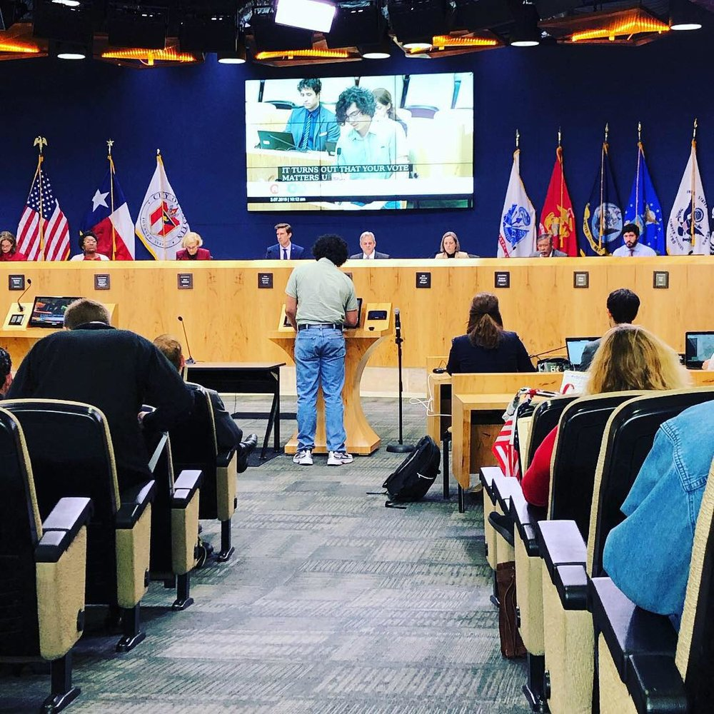 Austin City Council passes a local resolution in support of redistricting reform - Fair Maps Texas - 2019