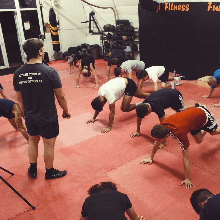 Total Body HIIT - High Intensity Interval Training, at its best!Short, high, intense intervals followed by shorter recoveries to maximise your training time! See improvements in your aerobic fitness and change in your body shape with this fantastic method of training. Using body weight exercises, functional equipment such as battle ropes, kettle bells, suspension straps and weight sleds. See an increase in your BMR, reduction in Body Fat and the exercise 'High' will take you to new level of fitness.