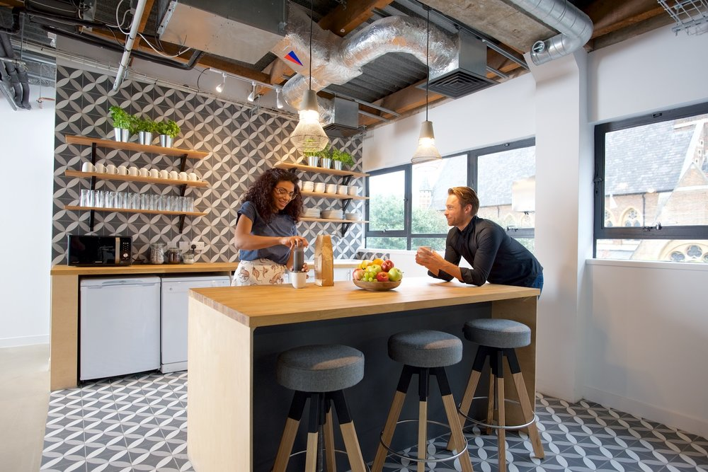Techspace, Shoreditch - LIFESTYLETechspace provide flexible office + coworking space for tech startups and scale-ups. Their latest London offering is their flagship building, a striking 20,000 sqft building in the heart of East London.Photography: Andy Smith